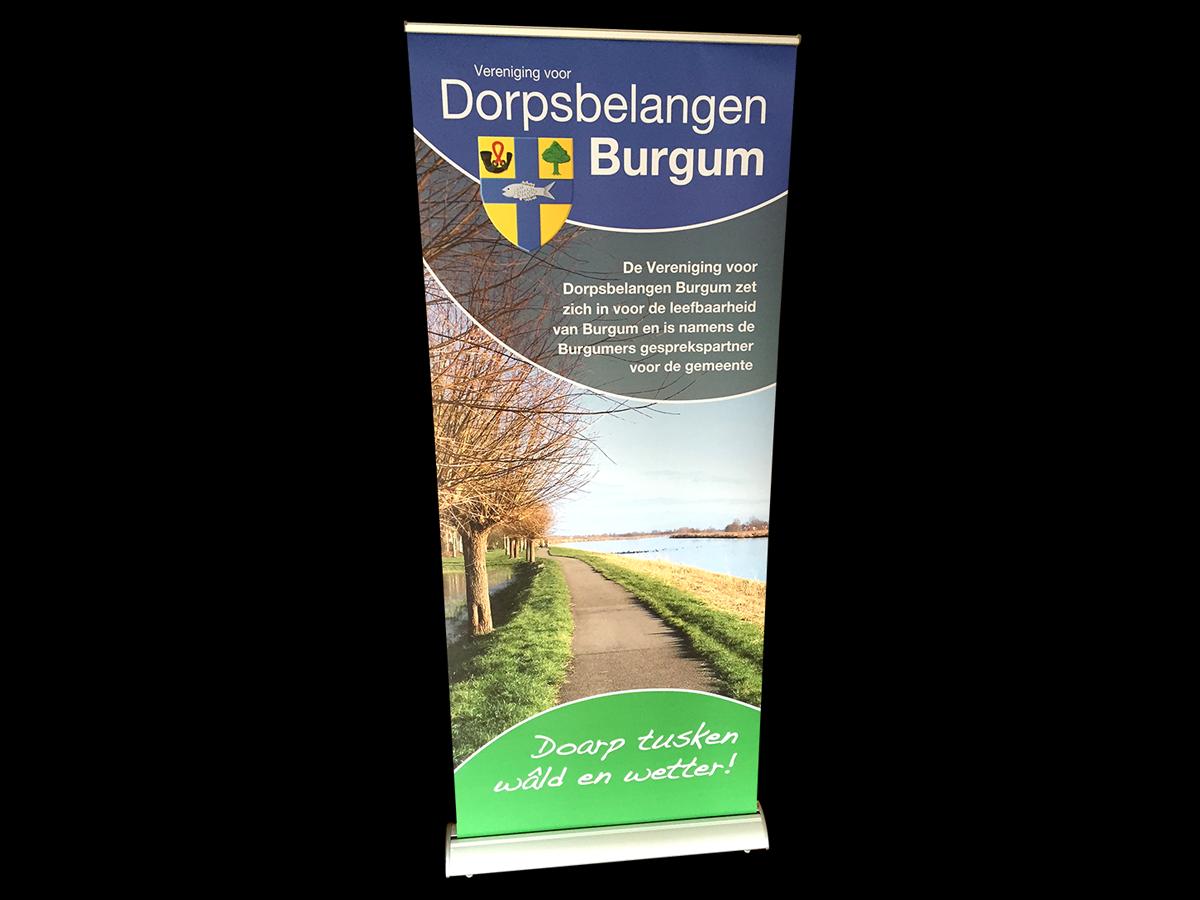 rollup banner dorpsbelangen burgum