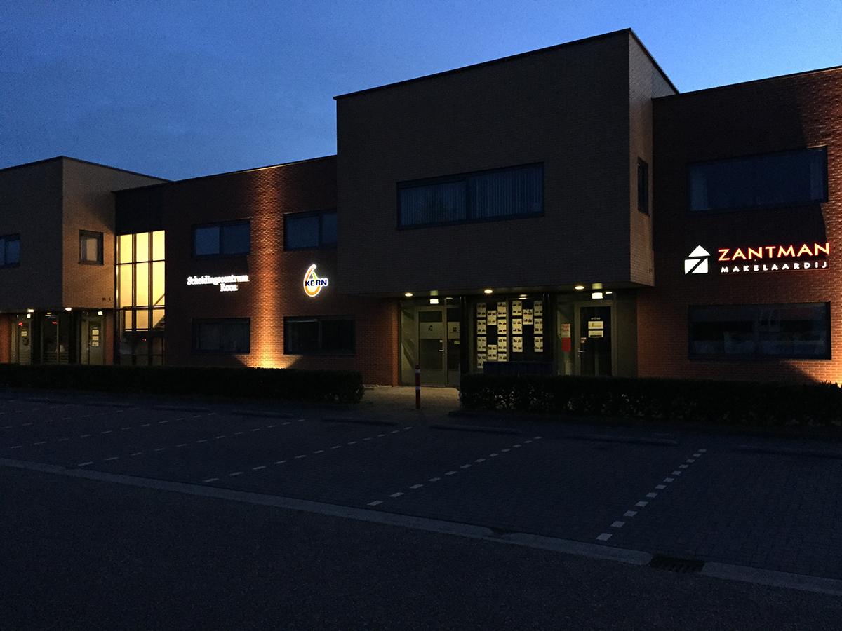 LED gemodelleerde reclames voor KEaRN Welzijn Burgum