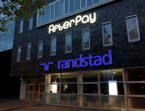 led-doosletters-logo-lichtreclame-afterpay-k-r-poststraat-heerenveen-friesland