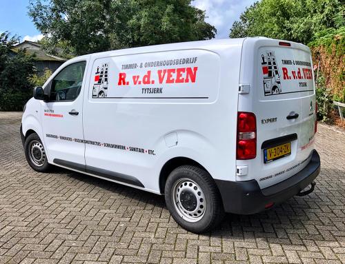 reclame-belettering-logo-sticker-bus-peugeot-expert-van-der-veen-tytsjerk-friesland